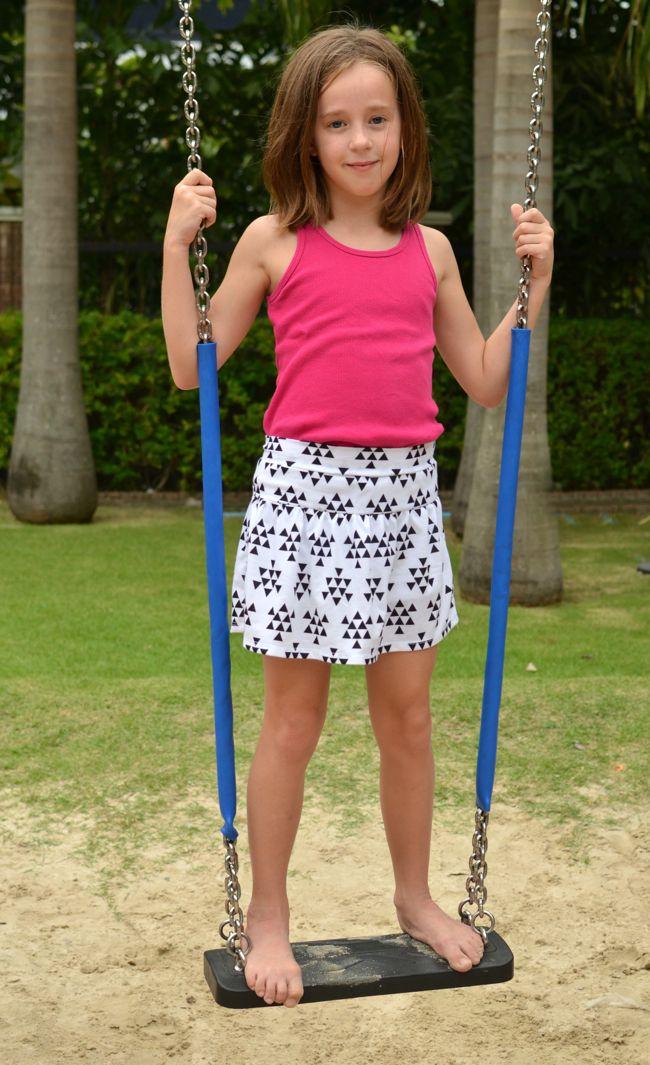 FREE Pattern: Monkey Bar Skirt | Sewing for Girls | Pinterest ...