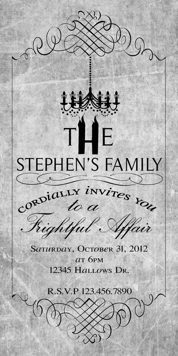 Vintage Halloween Party Invitations - Google Search Halloween