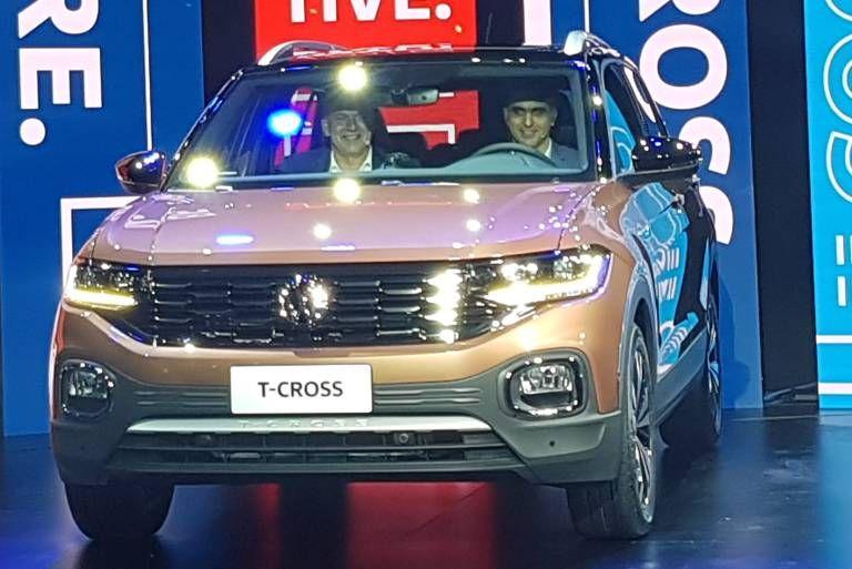 Este é o Volkswagen TCross, novo rival de Honda HRV e