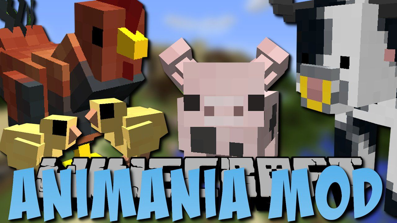 Animania Mod For Minecraft 1 12 2 1 11 2 With Images Minecraft