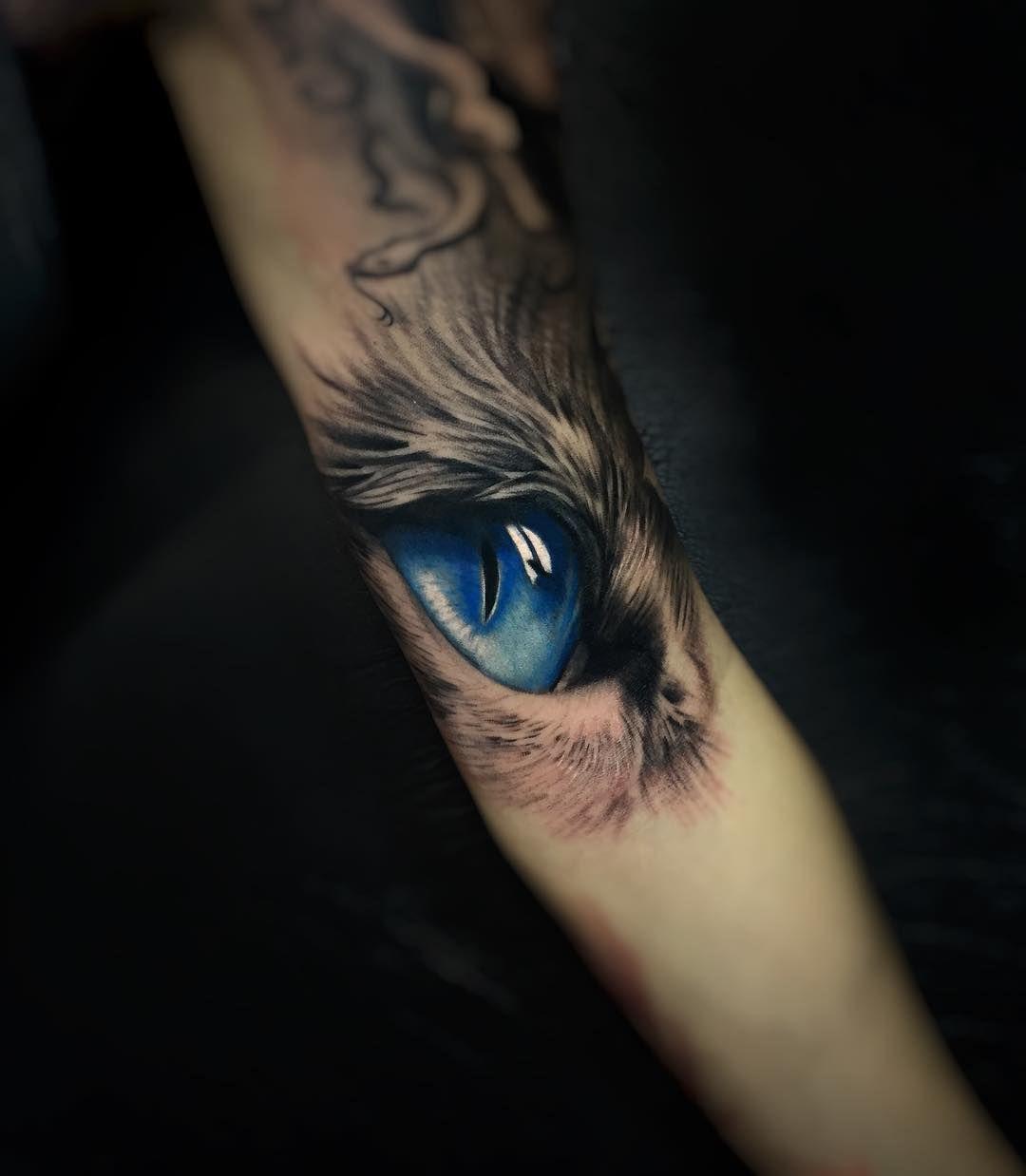 Eye Tattoo By Daniel Bedoya тату тату глаза и животные