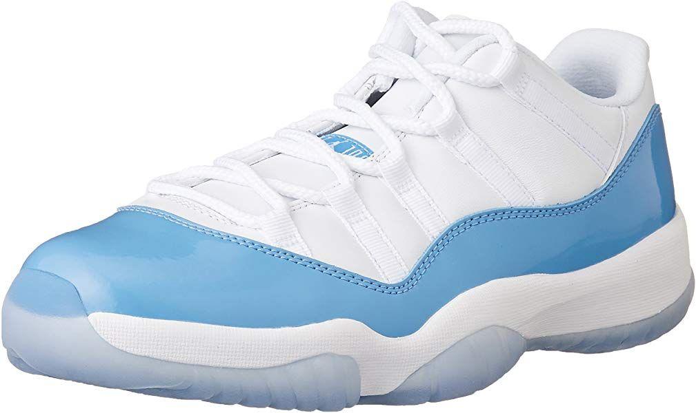 cheaper 69a19 fd534 Amazon.com   Jordan Men s Air 11 Retro, White University Blue-Midnight  Navy, 10 M US   Basketball