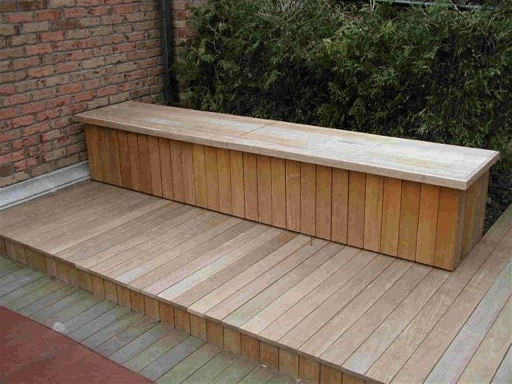 Furniture Popular Outdoor Cedar Storage Bench Diy Also Pool Deck