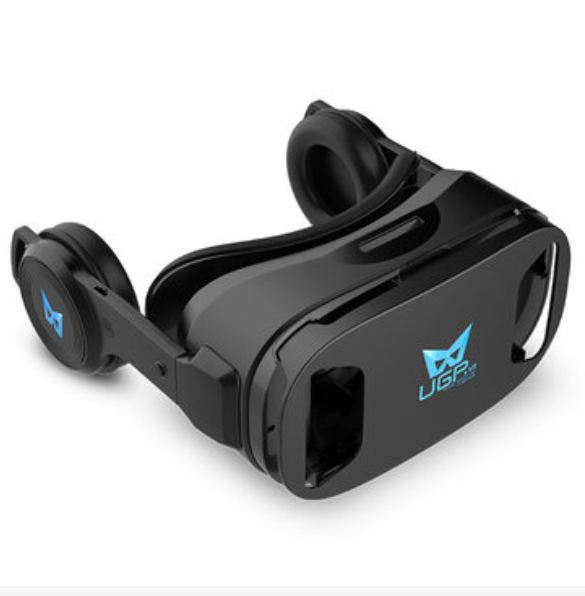 Virtual Reality VR Glasses with Earphones for Android & IOS Devices