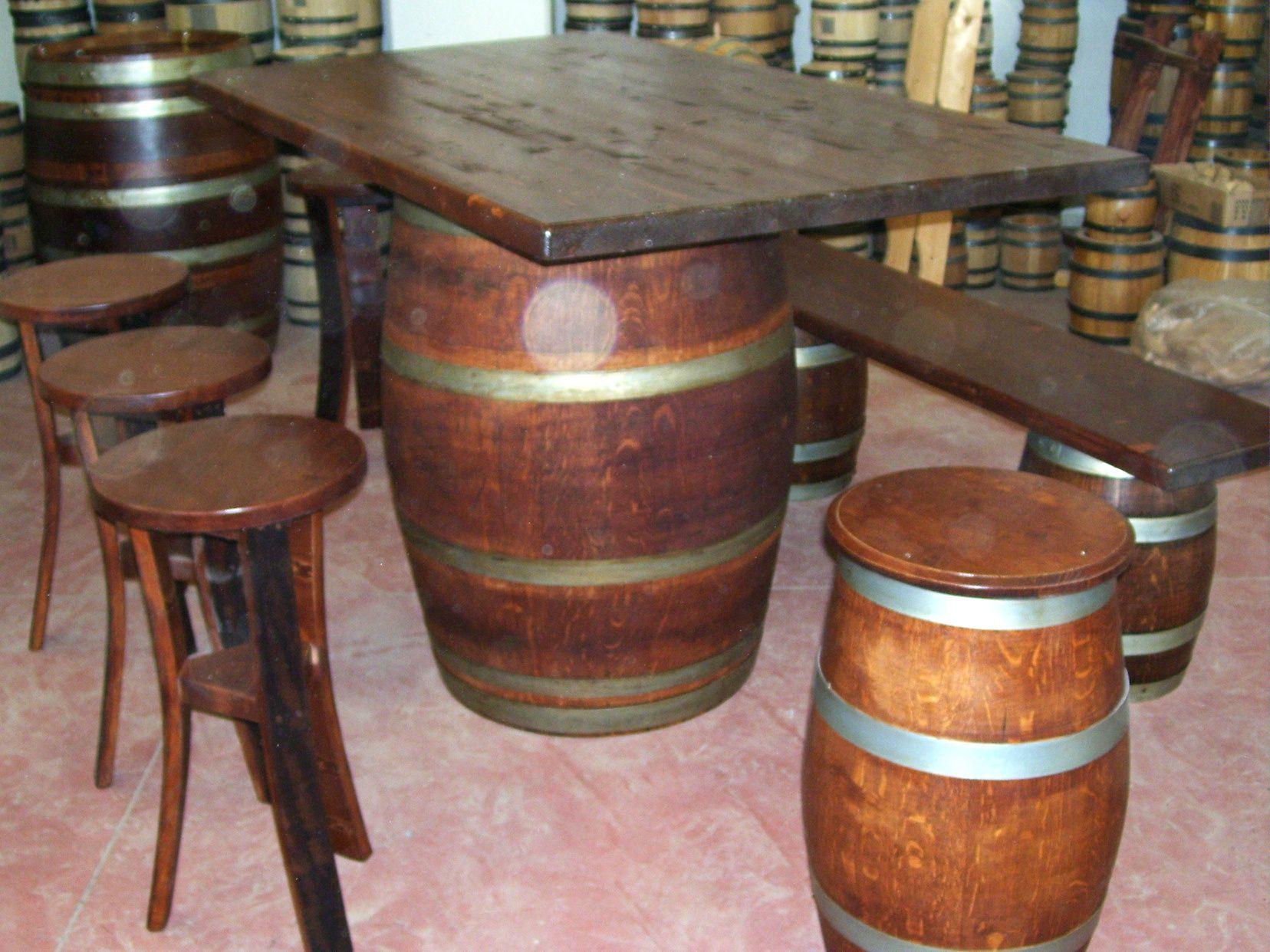 Tavolo da birreria e osteria da metri con panca a
