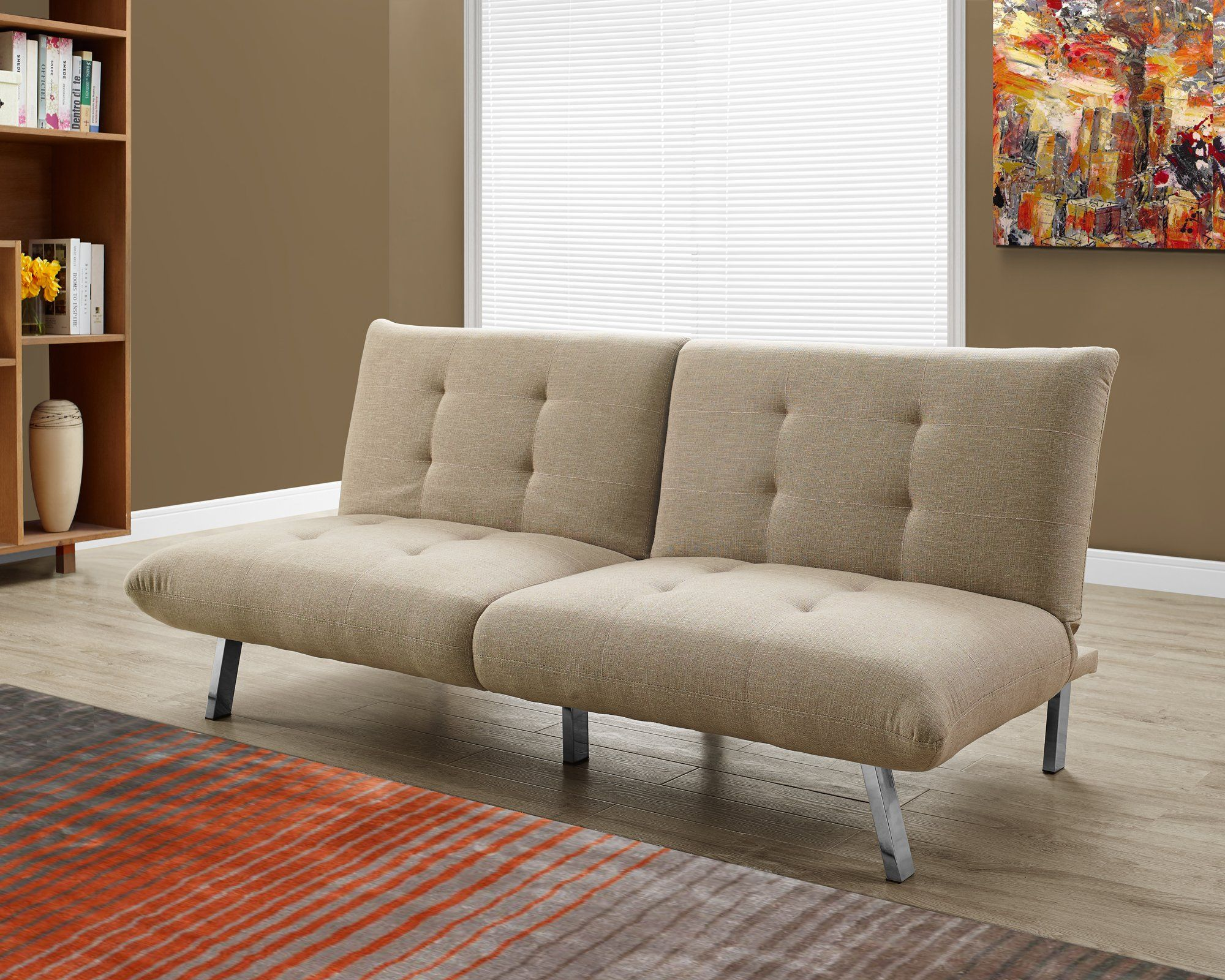 Abbyson Living Belize ClickClack Sofa Gray Sofa bed