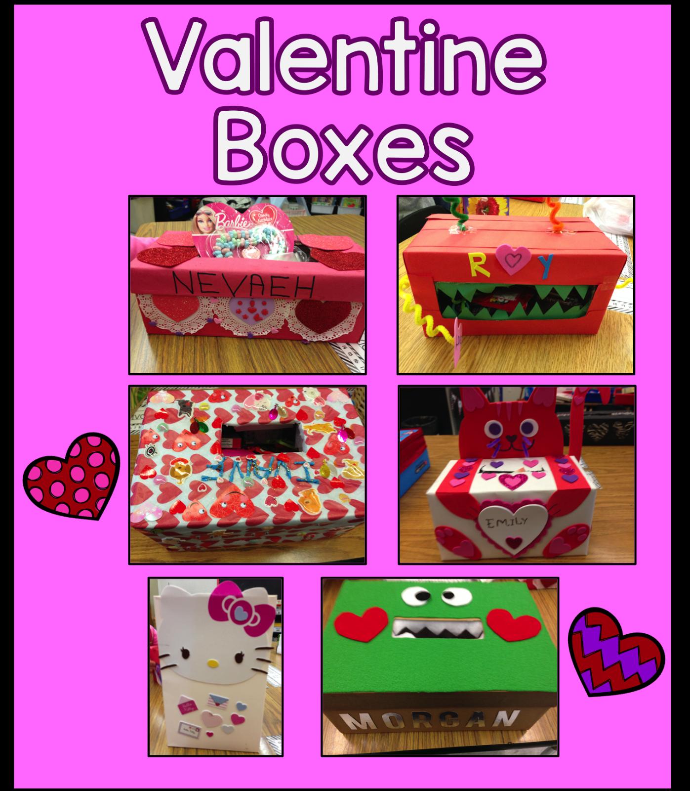 Valentine S Box Project Valentines School Kindergarten Valentines Valentine Box