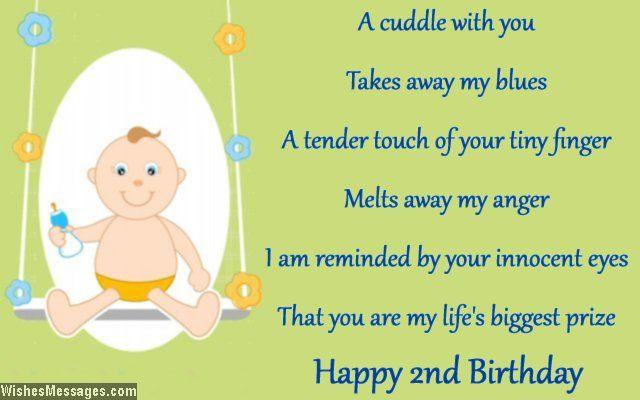 Second Birthday Wishes Happy 2nd Birthday Messages Nephew Birthday Quotes Birthday Boy Quotes Birthday Wishes For Nephew