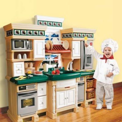 Step 2 174 Lifestyle Deluxe Kitchen Playsets Sears Sears