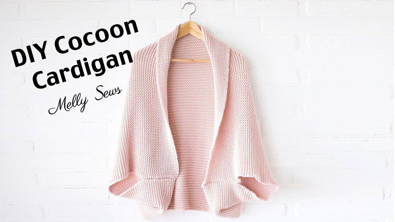 DIY Cocoon Cardigan Make a Blanket Sweater | Cocoon