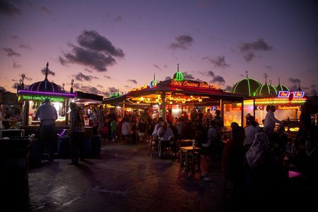 Istanbul lights Photo by Evelyn Müller -- National Geographic Your Shot