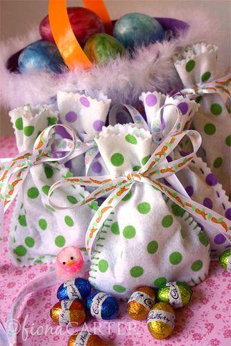 Easter eggs felt goodie bags wedding pinterest goodie bags easter eggs felt goodie bags negle Choice Image