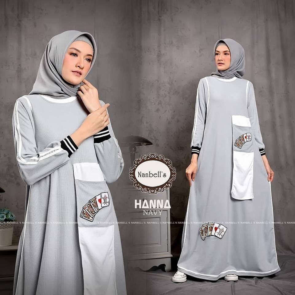 HANNA by NANBELLS HIJAB  Model pakaian muslim, Model pakaian
