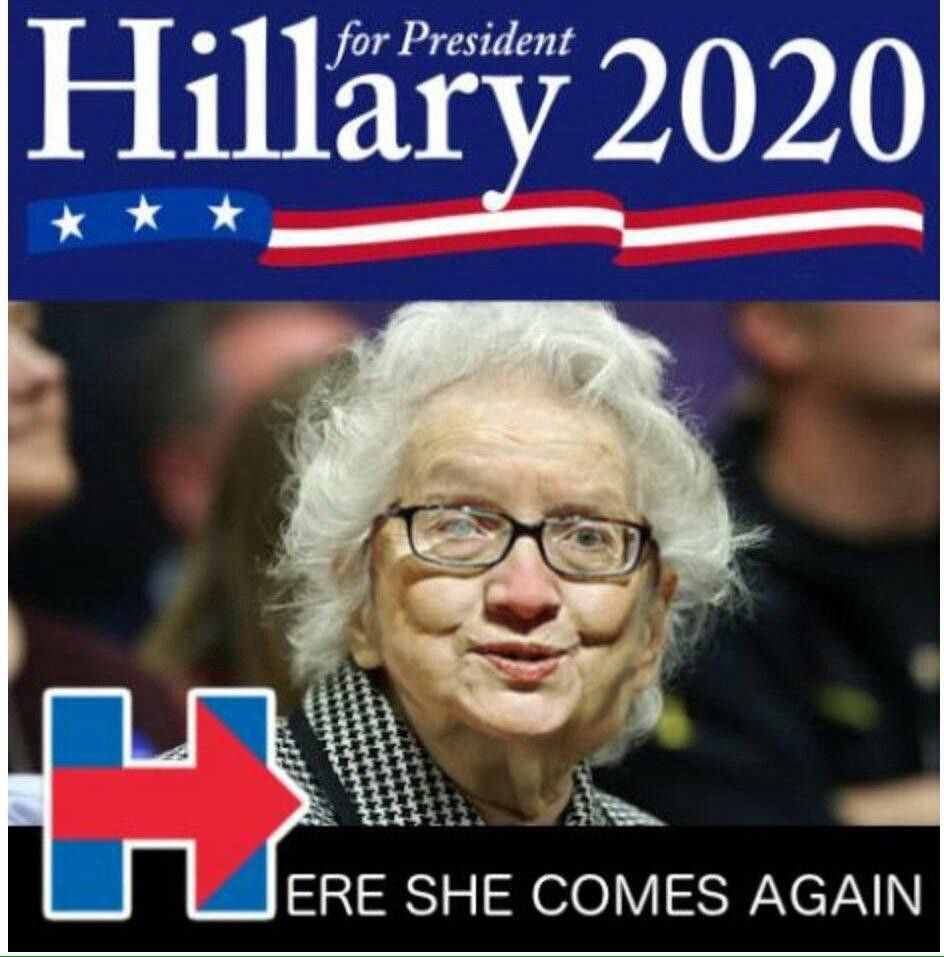 Pin On Hillary Clinton Jokes