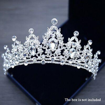 Bling Bridal Tiara Crystal Birthaday Wedding Crown Princess Diadem for sale online | eBay