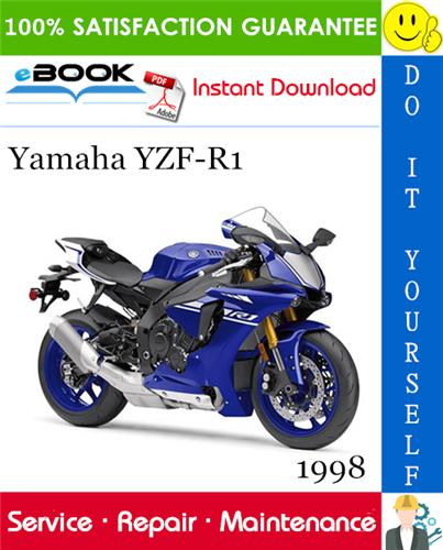 1998 Yamaha Yzf R1 Motorcycle Service Repair Manual Yamaha Yzf Yamaha Yamaha Yzf R1
