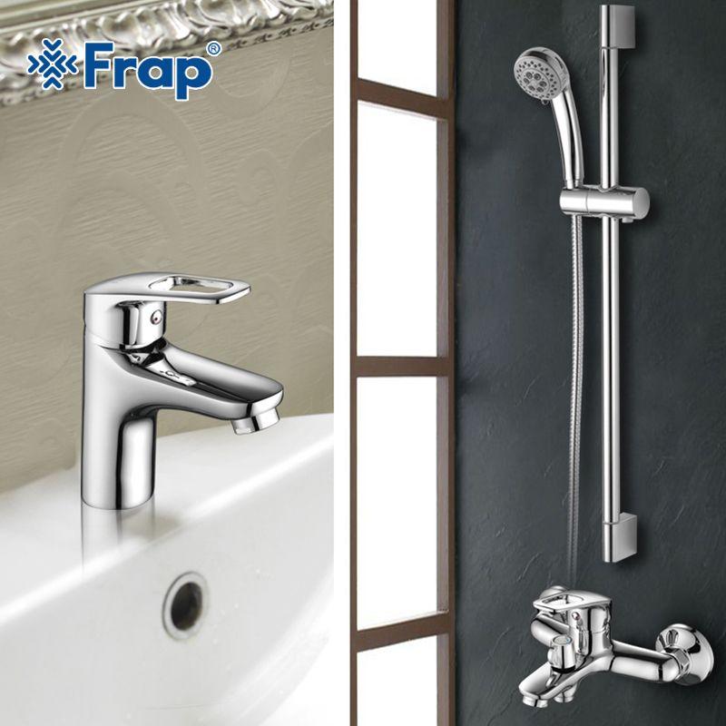 Frap New Bathroom Combination Basin Faucet Shower Tap Single