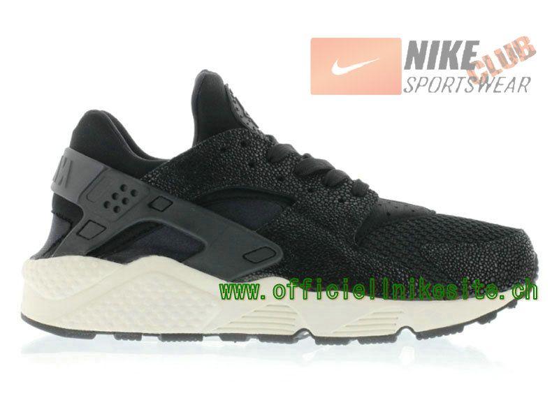 1559287582 Nike Air Huarache - Chaussure Nike Sportswear Pas Cher Pour Homme Noir  705008-001