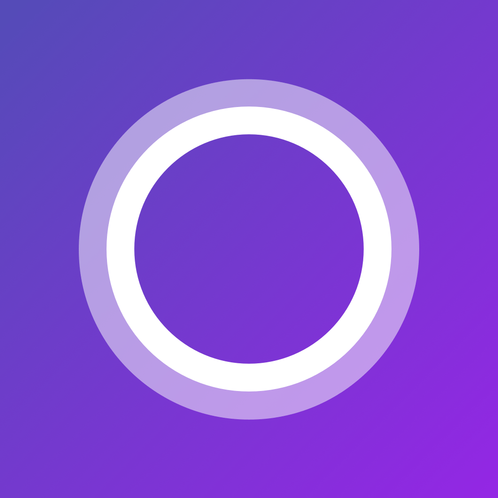 cortana personal digital assistant app icon app icon purple wallpaper iphone digital app icon purple wallpaper iphone