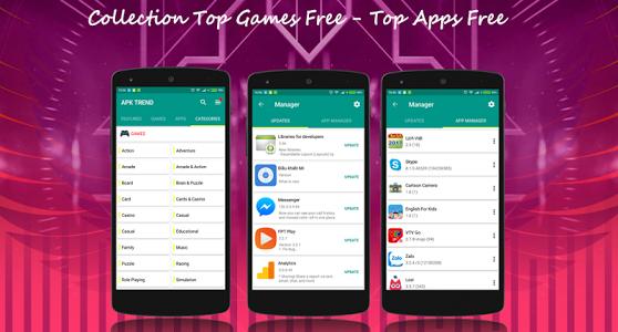 APK Trend Mobile App Store 1.4 Mobile app store, App