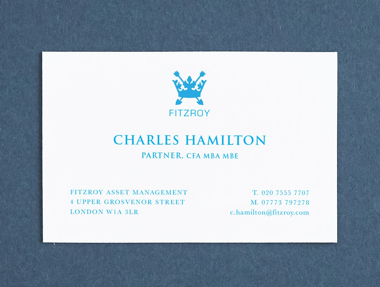 Printed Name Cards Custom Made Business Personalised Professional Calling Stationery Sky