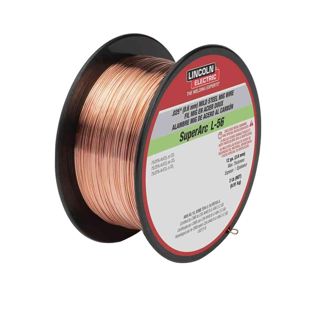 Lincoln Electric 025 In Superarc L 56 Er70s 6 Mig Welding Wire