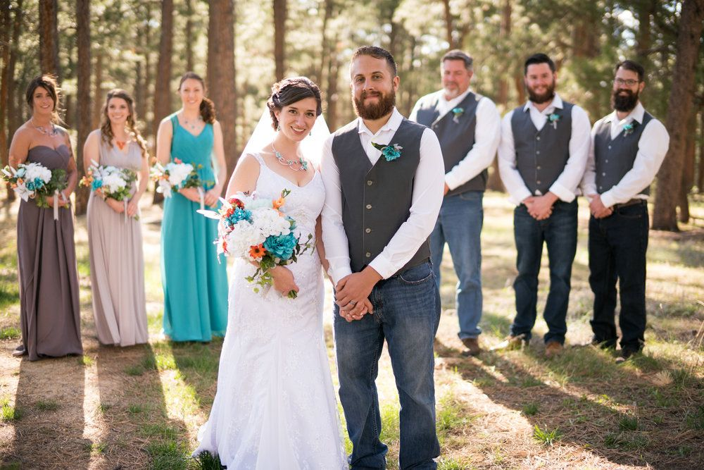 Pin By Heather Doan On Wedding Bridal Party Attire Bridal Party Poses Casual Bride