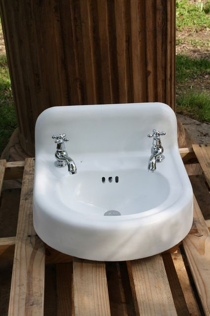 Cast Iron Bathroom Sinks consigned 1956 porcelain cast iron wall mount bathroom sink 18 x