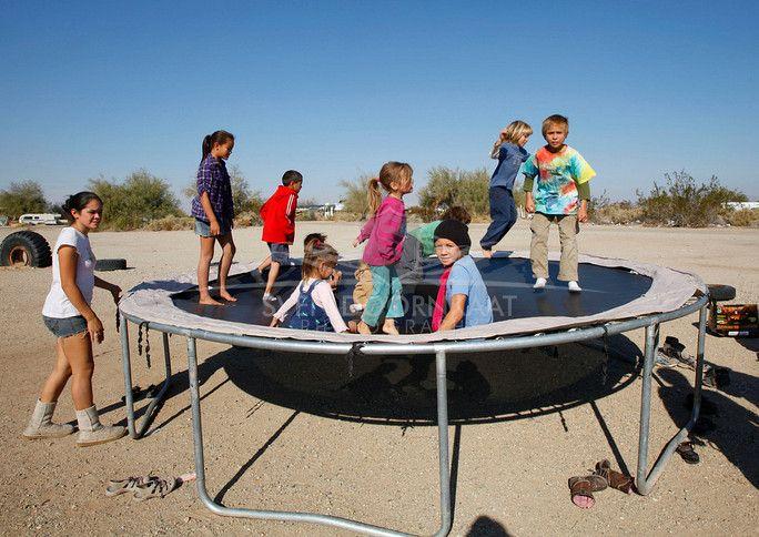 Children In Slab City Slab City City Marine Bases