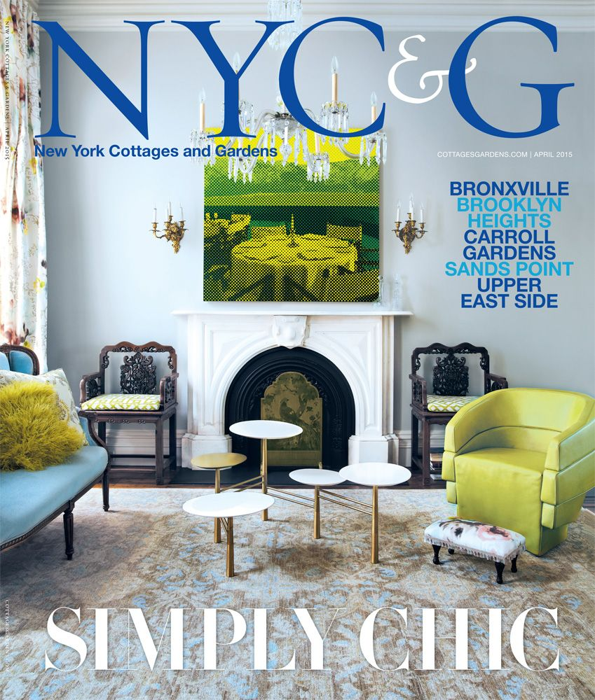 Cottages Gardens Magazines Connecticut Hamptons New York San Francisco Modern ChairsInteriordesignCottage