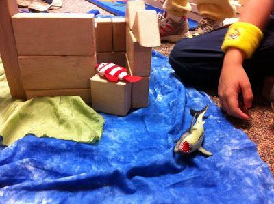 Ocean Block Play - Fairy Dust Teaching