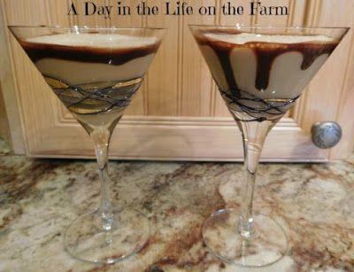 Almond Joy Martinis, because sometimes you feel like a nut...#choctoberfestwithimperialsugar