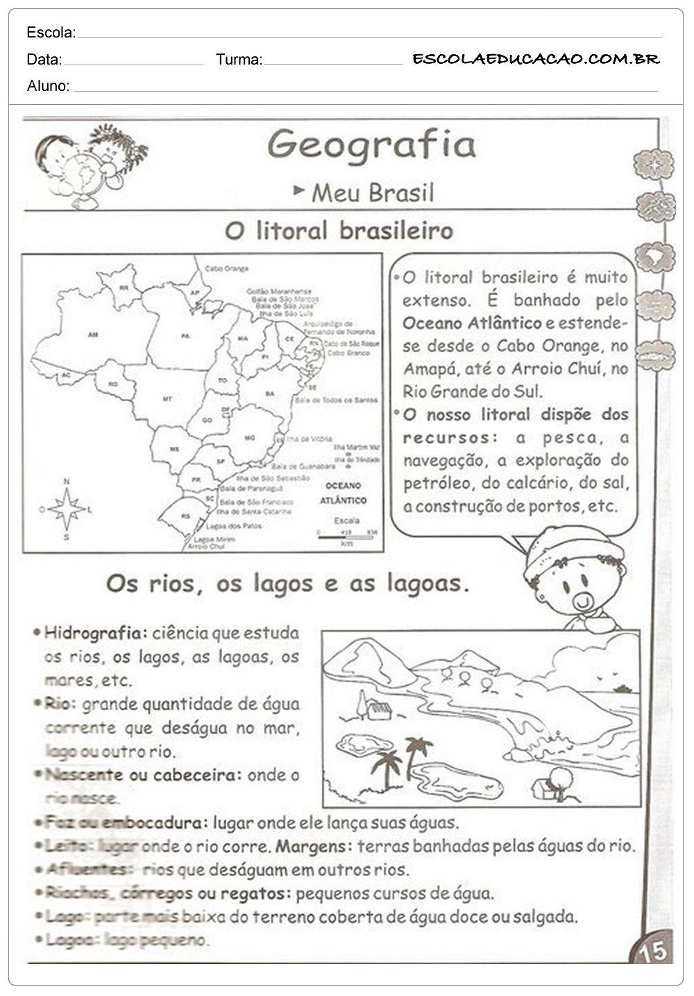 Agricultura E A Pecuaria Atividades De Geografia Geografia