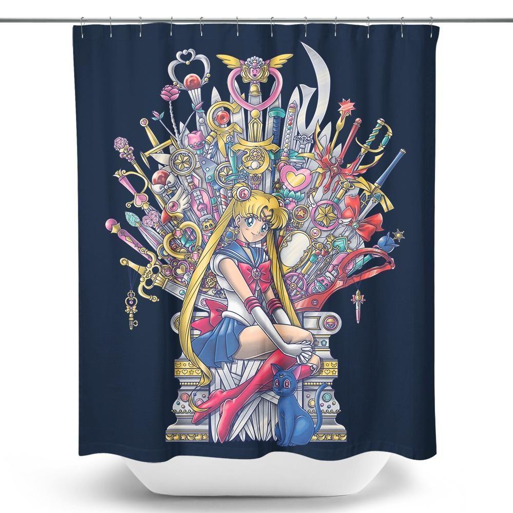 Throne Of Magic Shower Curtain S Izobrazheniyami