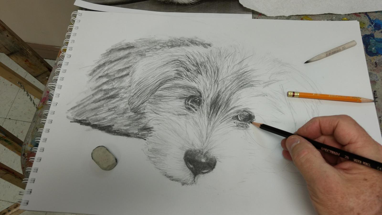 Cours de dessin en ligne | Peinture abstraite toile