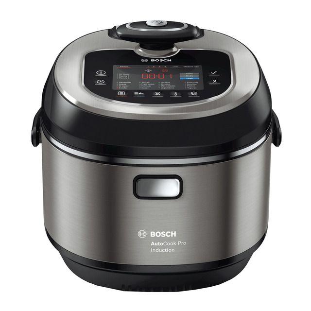 Olla eléctrica Bosch AutoCook MUC88B68ES cocción por inducción