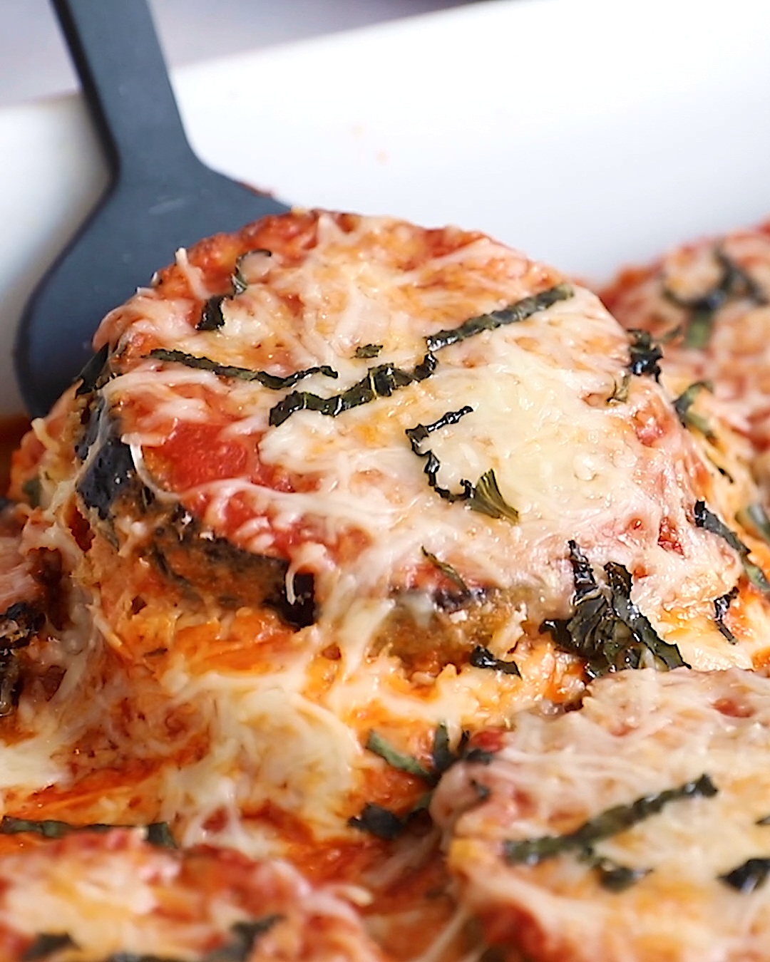Healthy Baked Eggplant Parmesan | Eating Bird Food