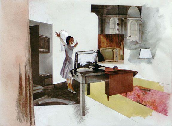 f5acc038dbb66 Richard Hamilton, Interior Study (b), 1964 | interior collage ...