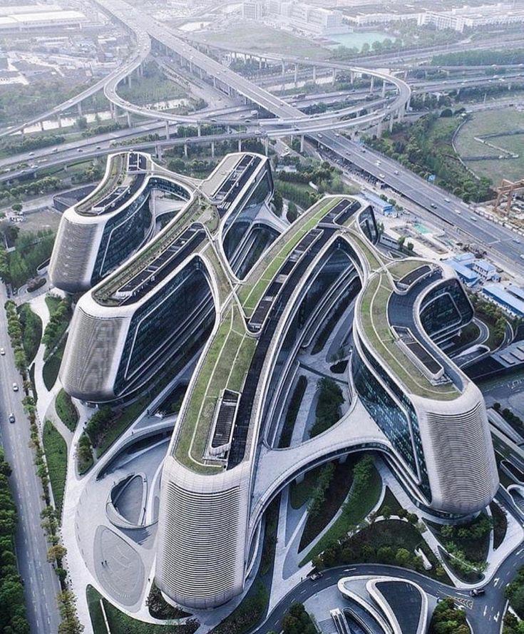 Architecture futuristic architecture - real? where?    futuristische archite
