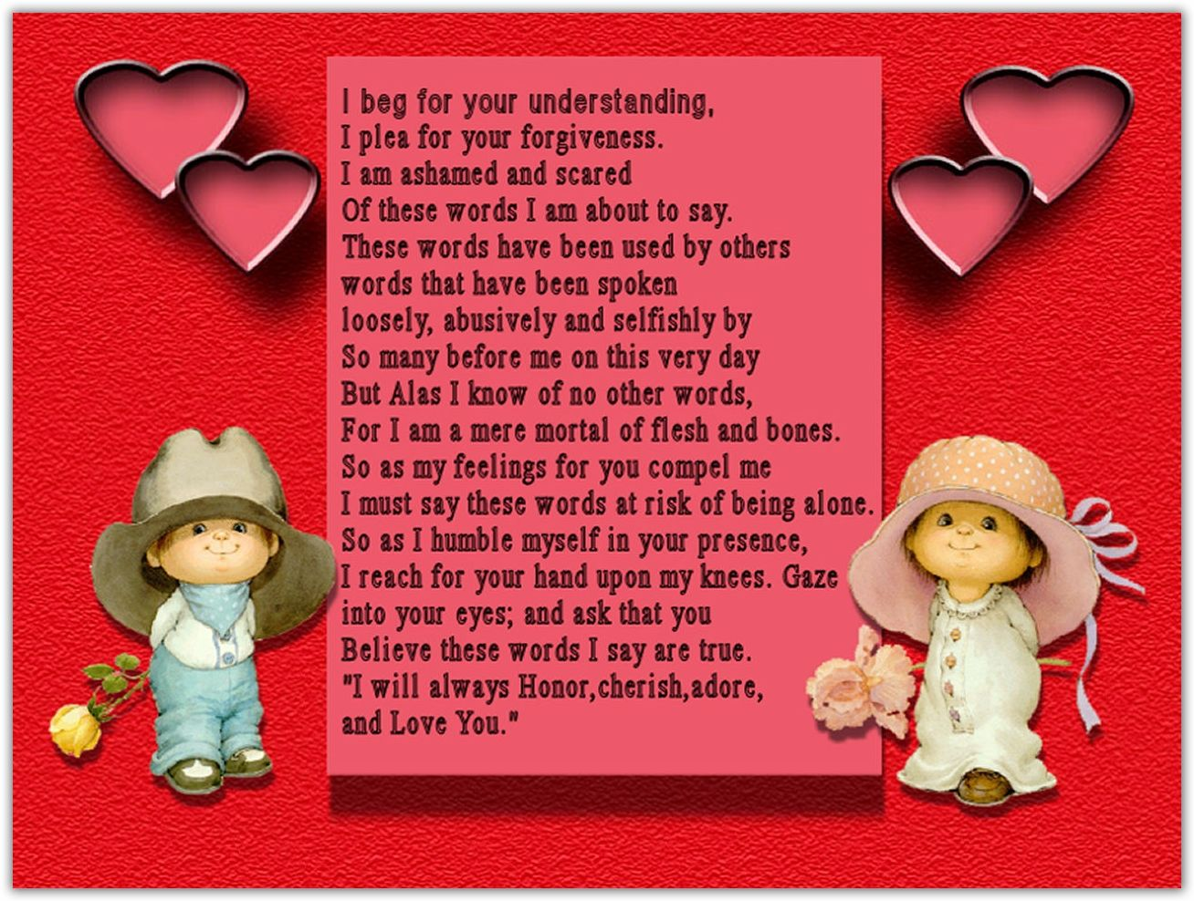 cute valentines day poems for girlfriend – Valentine Card Poems for Him