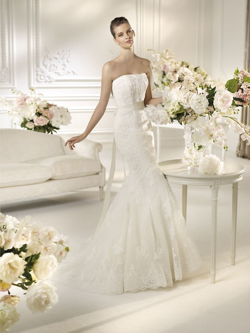 Normandia from The White One by Pronovias available at www ...