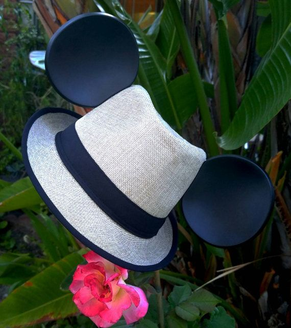 d1429ea65d50b Mickey Mouse Ears · Fedora Hat · Check out this item in my Etsy shop  https   www.etsy.