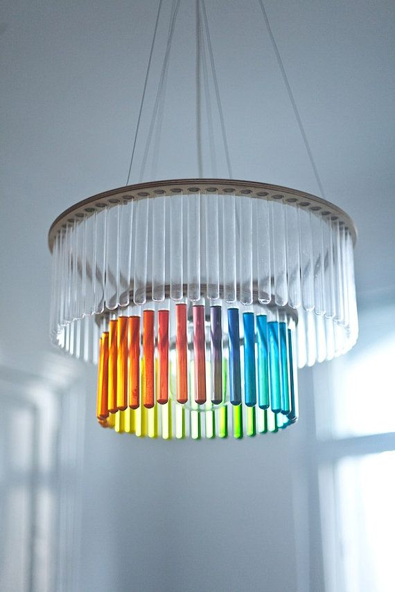 Maria SC double test tubes chandelier Test tubes, Chandeliers