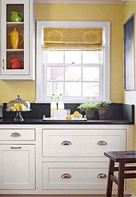 colori pareti cucina bianca - Cerca con Google | Kitchen ideas ...