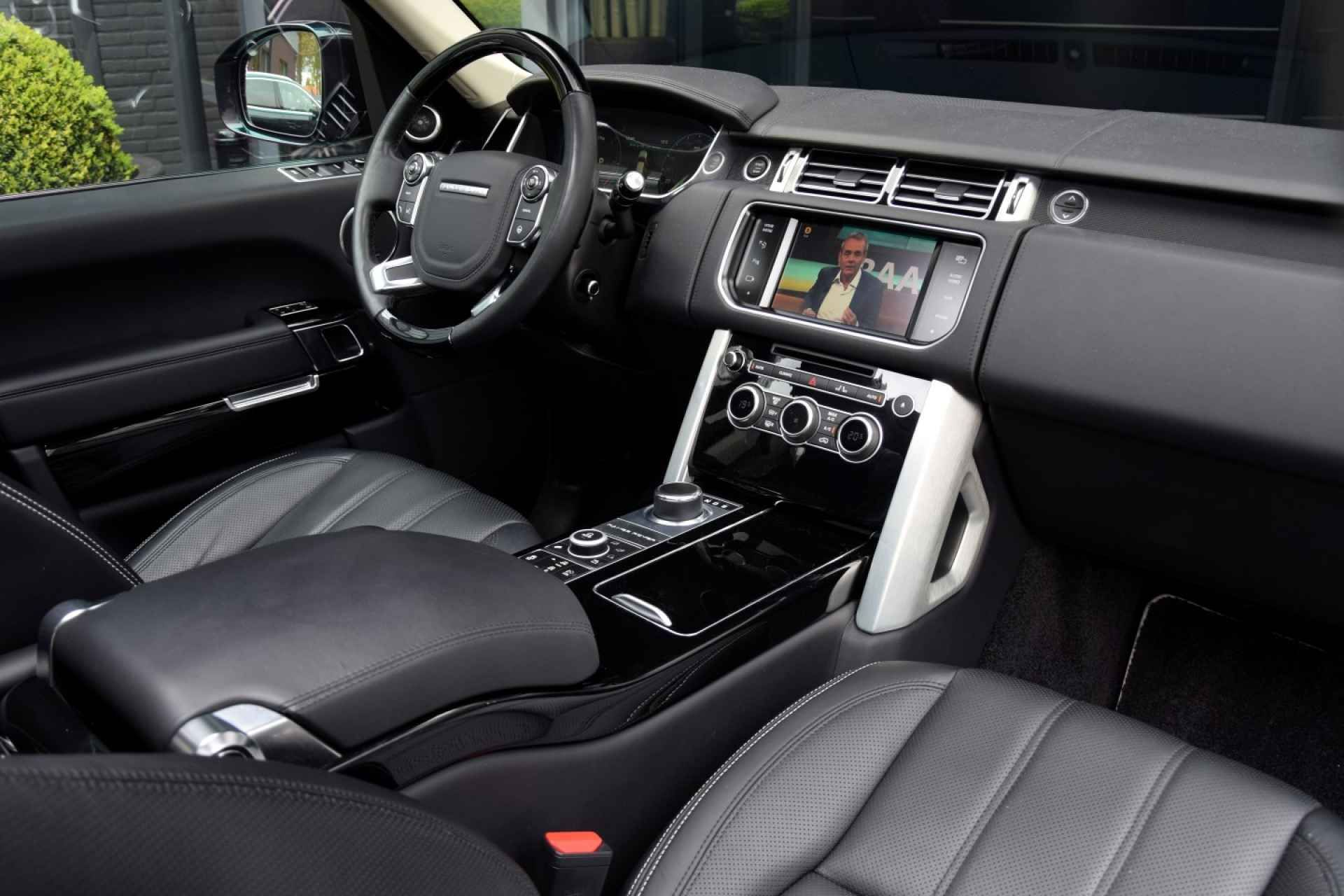 The interior is immaculate.... Range rover black