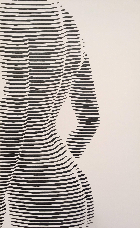 Photo of Original artwork: Woman's body Painting by Modesta Lukosiute | Saatchi Art