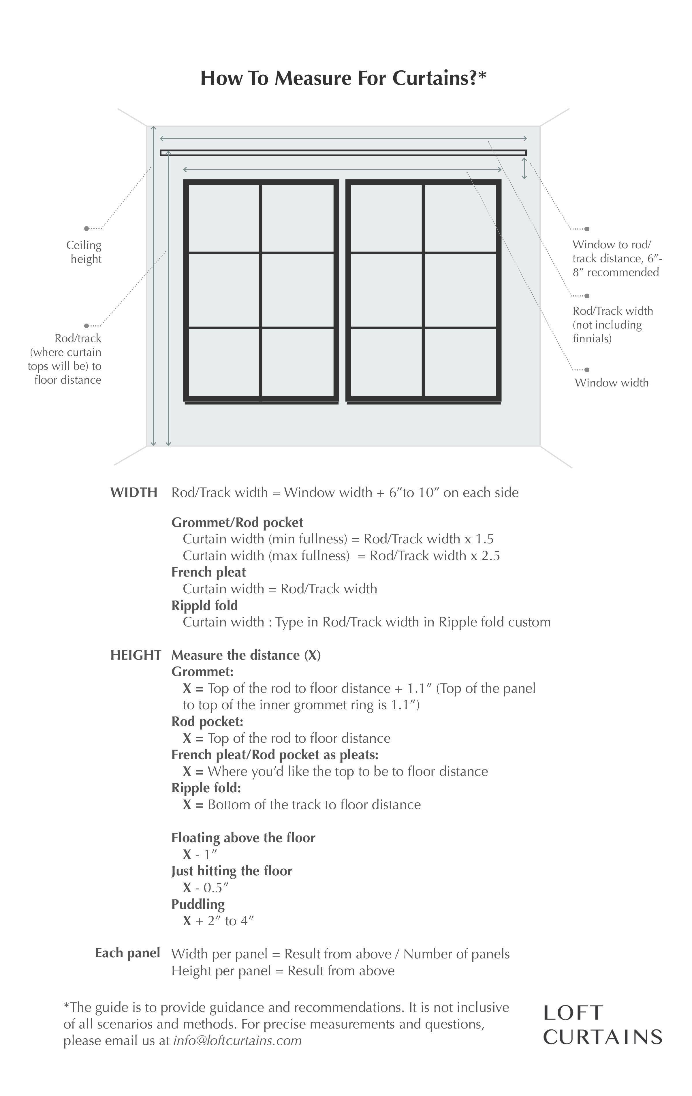 measuring curtains diy window shades