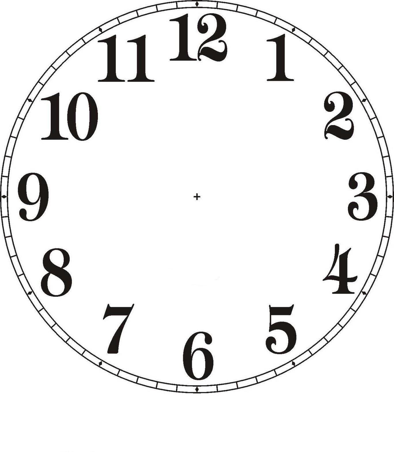 Zifferblatt selber drucken  Lernübungen für kinder zu drucken. Wie spät ist es? 2 | kinderkram ...