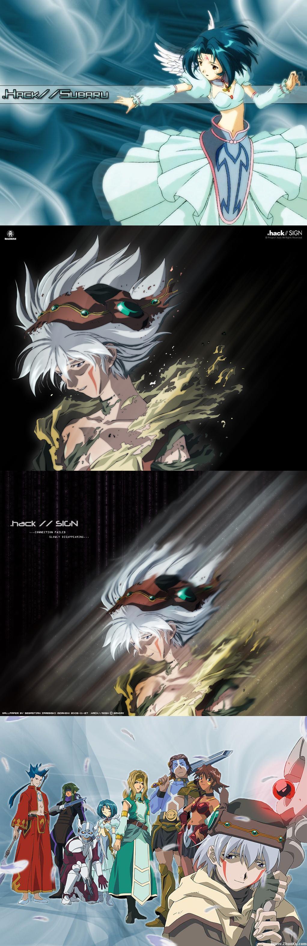 Dot Hack Sign Dot hack, Awesome anime, Anime