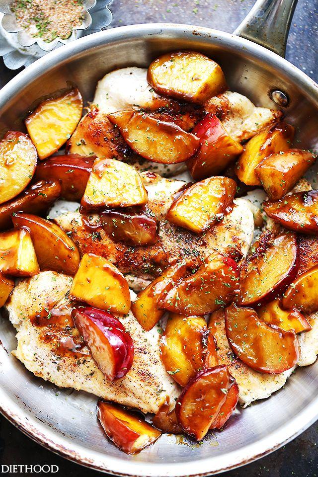 recipe: easy peach chicken recipe [4]